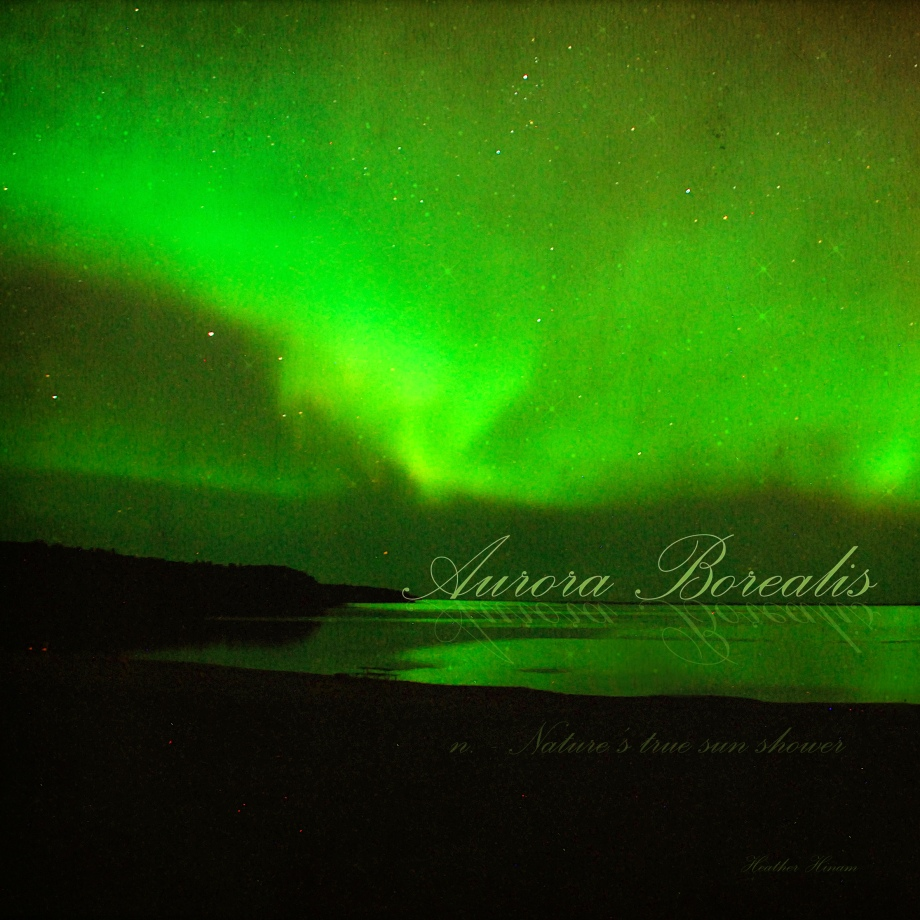 Aurora Borealis by Heather Hinam